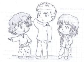 Leo, Jason and Piper by lauu7