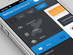 Mobile dashboard navigation by web-designr