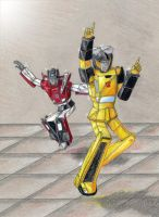 Dancing with the Autobots 5 by Kryschenn