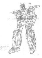 Maximus Prime concept by AlmightyRayzilla