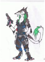 sergal merc by whitewolf0272