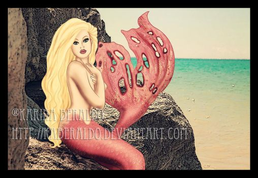 Pink Mermaid by kaberaldo
