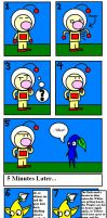Pikmin - What Olimar eats by KingKirbyThe3rd