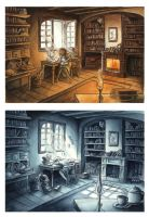 Day and night by Irina-Hirondelle