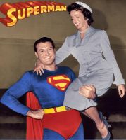 Lois and Clark in the 1950's by honestgeorge