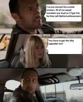 The Rock Driving - Mass Effect 2 Suicide Mission by halbrd