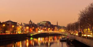 Morning in Dublin by superflyninja