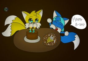 Tails Birthday by lurils