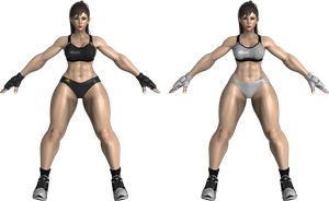 SFV Chun-Li Sparring costume by zareef