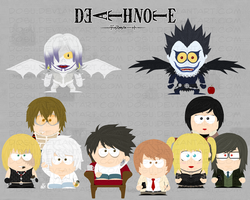 DeathNote-SouthPark Wallpaper by Dosu