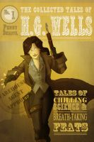 H.G. Wells by ComickerGirl