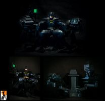 Bat in the Cave by AYsculpture