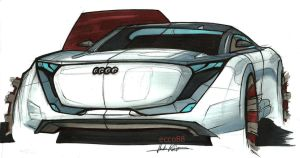 audi sketch + marker-render by ecco666