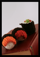 Sushi Amigurumi Plushies :D by block10