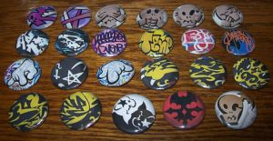TWEWY Pins - Gatito by Paradise-Props
