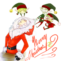Santa's Little Helpers by fronanc345