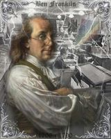 Benjamin Franklin by kingdehart