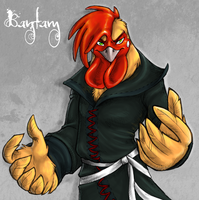 Chickens Can't Be Heroes: Bantam by AddictionHalfWay