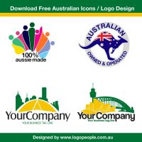 Download Free Icon and Iogo Design for Australia by linkexperts