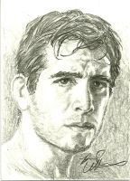 Kenny Florian sketch card by therealbradu