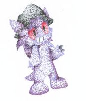 Sulder as a Chao by 1996Yuna