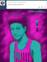 Niall #8 - Palette Challenge by xLilacNiallDoex