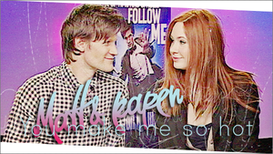 Matt Smith and Karen Gillan 4 by alitaz