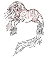 Zebra Tattoo Design Rough 003 TakeII by ArtistMaz