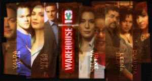 Warehouse 13 Cast by bubblenubbins