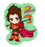 Nerf skin Darius by aquatica-monster