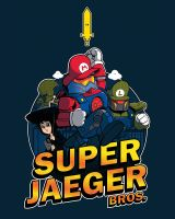 Super Jaeger Bros by Ian-Summers