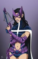Huntress commission by phil-cho