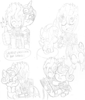 Uncle Starstorm Sketches 1 by PiplupSTARSCommander