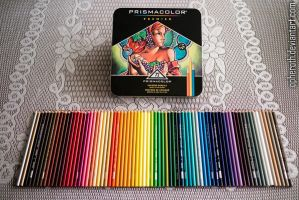 New Color Pencils by Opheroth