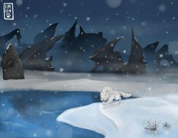 Frostfire Ridge by IronclawsAndPaws