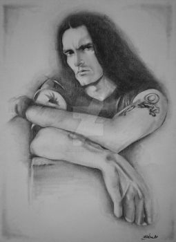 Peter Steele by CristinaC75