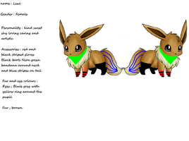 Lexi the eevee by avrilrocks1200
