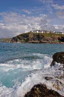 Port Isaac On The Rocks by runique