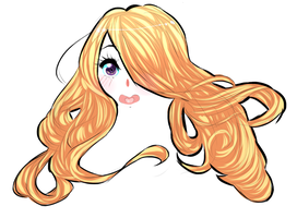 ALL DAT HAIR by Z0anna