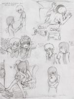 Bevin n Chack Sketches II by MyLittleCut