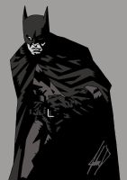 The Dark Knight by JohnDelmonte