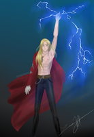 Edward Elric the Great!!!! by magicalwaters