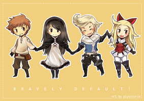 Bravely Default! by piyostoria