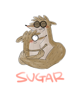 Rigby and Don by OysteIce
