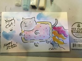 NYAN CAT by ChibiCelina
