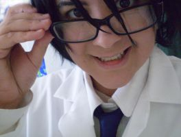 DRRR Shinra Cosplay 2 by daggerhime