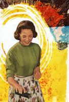 atomic housewife. by triscuitbox
