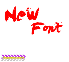 New Font by Jorgerusherboy4ever