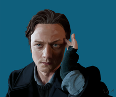 X-Men - Charles Xavier by ravengrimm