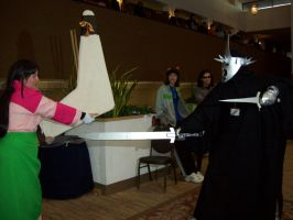 AD 2011 - Sango vs Witch King by Wolf-girl-Alchemist9